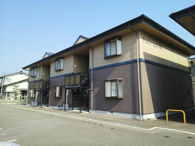 物件番号: 1110309398 チェリーヒルズB 富山市赤田 3DK アパート 外観写真