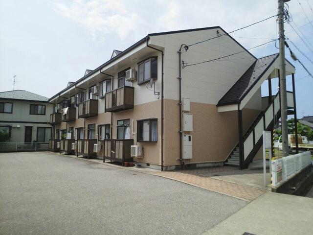 物件番号: 1110309399 メゾンクレスト  富山市上赤江町2丁目 1LDK アパート 外観画像