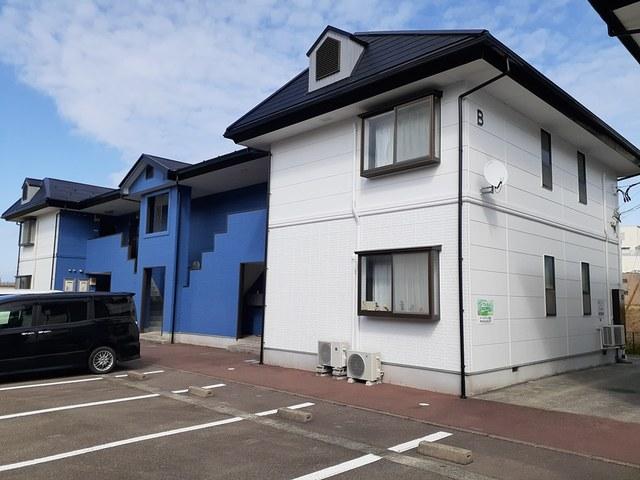 物件番号: 1110309979 リバーサイド・ヴィラB 富山市西荒屋 2DK アパート 外観写真
