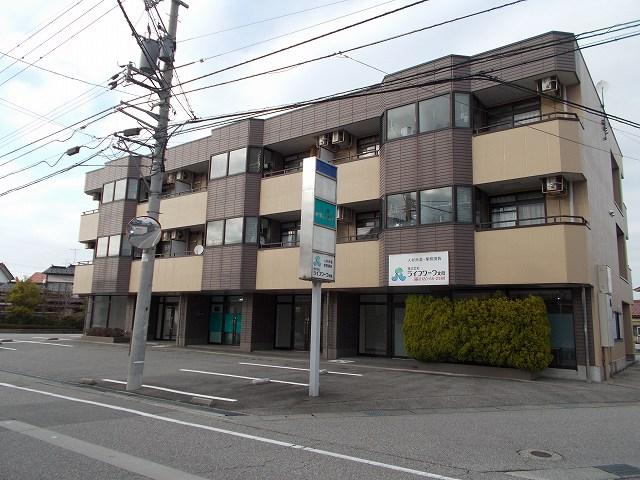 物件番号: 1110309418 HANAハイツ  富山市新庄町 1LDK マンション 外観画像