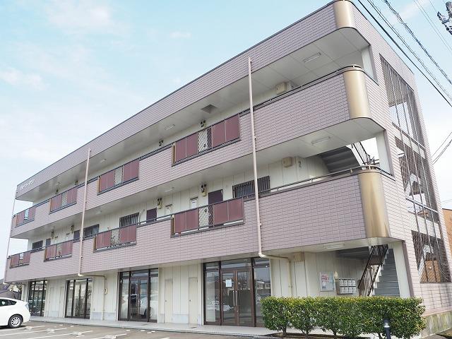物件番号: 1110310139 マルベリータウン 富山市萩原 3DK マンション 外観写真
