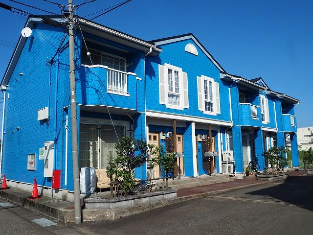 物件番号: 1110309422 リバーサイド・ドリームⅡ 富山市西荒屋 2LDK アパート 外観写真
