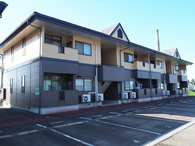 物件番号: 1110310056 リバーサイド・ヴィラD 富山市西荒屋 2DK アパート 外観写真