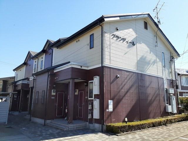 物件番号: 1110309429 グランディール  富山市山室荒屋 1LDK アパート 外観画像