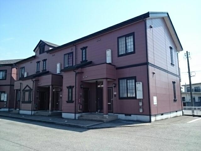 物件番号: 1110309438 ドムス・コンドゥクターA  富山市中川原 2DK アパート 外観画像
