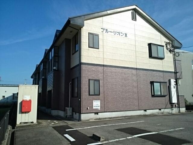 物件番号: 1110309448 ブルーリオンⅡ  富山市萩原 2DK アパート 外観画像