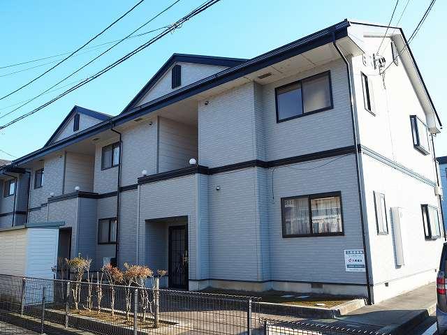 物件番号: 1110310145 ヴィラ・エテルネ黒瀬B 富山市黒瀬 2DK アパート 外観写真