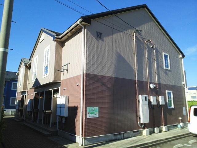 物件番号: 1110310148 リバーサイド・ドリームⅥ 富山市西荒屋 2DK アパート 外観写真