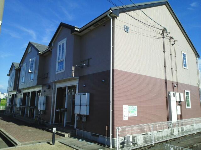 物件番号: 1110309453 リバーサイド・ドリームⅦ  富山市西荒屋 2DK アパート 外観画像