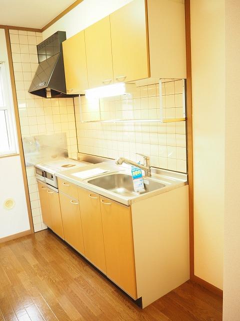 物件番号: 1110309459 グランディールⅢ  富山市山室荒屋 2LDK アパート 画像2