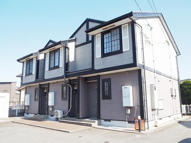 物件番号: 1110310152 ブルーイゾラ 富山市赤田 2DK アパート 外観写真