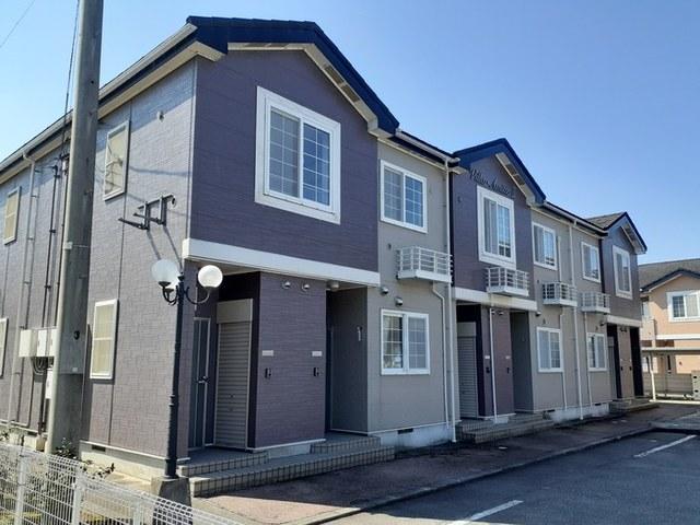 物件番号: 1110309941 ヴィラ・アミティⅡ  富山市西荒屋 2LDK アパート 外観画像