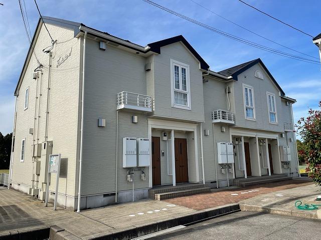 物件番号: 1110309462 ファンタジーアA  富山市下大久保 2DK アパート 外観画像