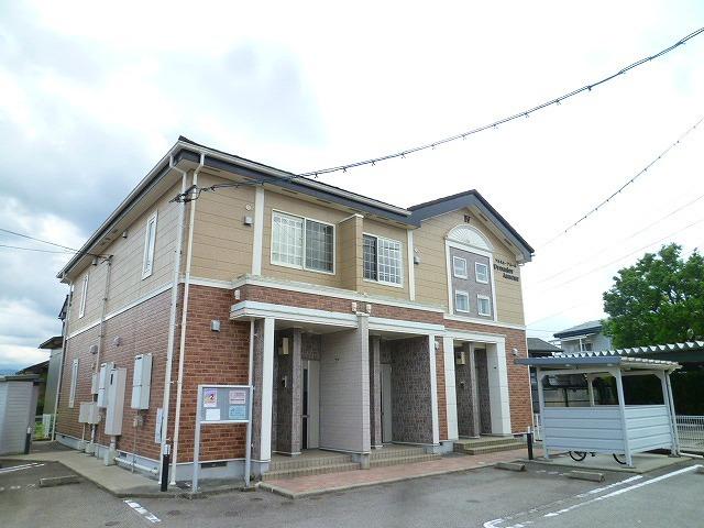 物件番号: 1110310230 プルミエ・アムールⅣ 富山市八尾町杉田 1K アパート 外観写真