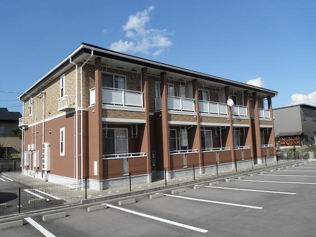 物件番号: 1110309904 ヴィラ・アミティⅤ  富山市西荒屋 1LDK アパート 外観画像