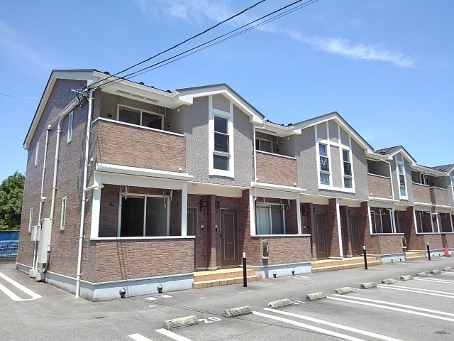 物件番号: 1110309499 ベルズかたかごB 富山市八木山 2DK アパート 外観写真
