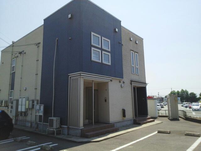 物件番号: 1110309910 ヴィル・フォーレⅢ  富山市本郷町 1LDK アパート 外観画像