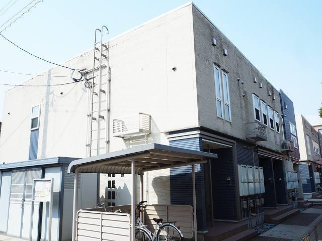 物件番号: 1110309530 クロンドールⅠ  富山市布瀬本町 1LDK アパート 外観画像
