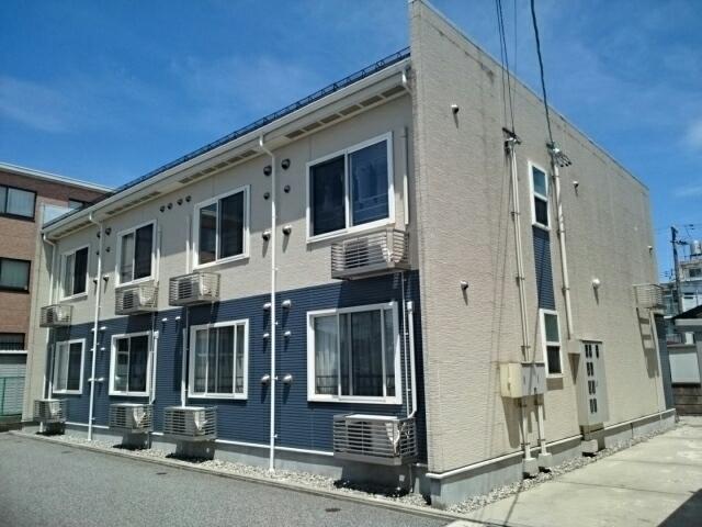 物件番号: 1110309532 クロンドールⅡ  富山市布瀬本町 1K アパート 外観画像