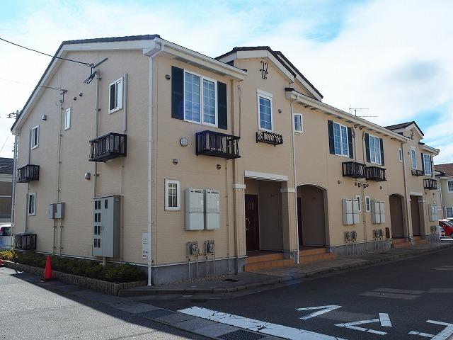 物件番号: 1110310062 エトワールA 富山市西荒屋 2LDK アパート 外観写真