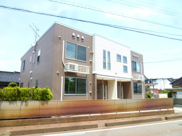 物件番号: 1110309946 ヴィー・ボヌールⅡ 富山市四方 2LDK アパート 外観写真