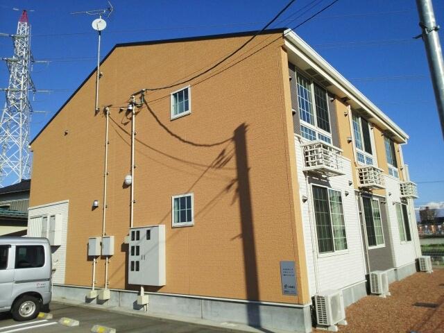物件番号: 1110309570 デパール  富山市黒瀬 1K アパート 外観画像