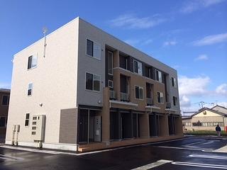 物件番号: 1110309617 サニースクエアB 富山市新庄北町 1K アパート 外観写真