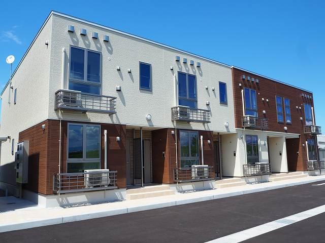 物件番号: 1110309665 プルミエリアⅡ 富山市新庄町2丁目 1LDK アパート 外観写真