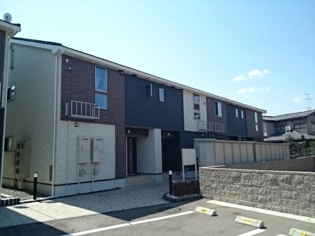 物件番号: 1110309677 リトル・スィーダーⅡ  富山市小杉 2LDK アパート 外観画像