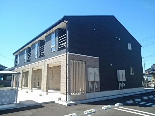 物件番号: 1110310135 ネスト・カトー 富山市長江4丁目 1DK アパート 外観写真