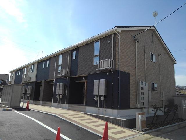 物件番号: 1110309740 ル・ソレイユ  富山市八尾町福島6丁目 1LDK アパート 外観画像