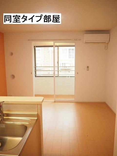 物件番号: 1110309852 ラ・セーヌ ミヨイ Ⅱ  富山市山室 1LDK アパート 画像1