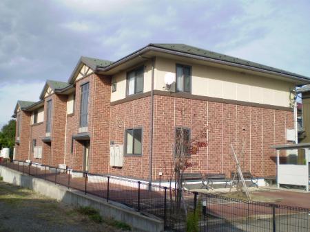 物件番号: 1110303336 レ・セリジエ 富山市赤田 2DK アパート 外観写真