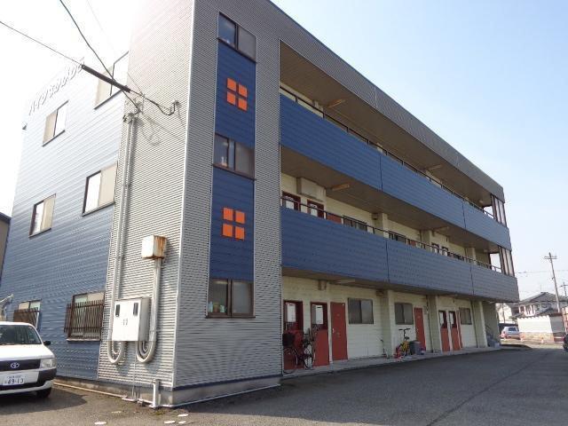 物件番号: 1110305953 ハイツなかがわら  富山市中川原 1DK アパート 外観画像