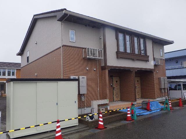 物件番号: 1110309777 ドゥ・ステージアⅦ 富山市小杉 2LDK アパート 外観写真