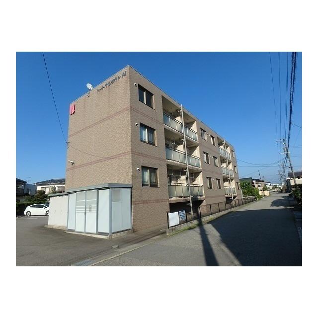 物件番号: 1110308971 ハートフルタウンAi 富山市太田 1LDK マンション 外観写真